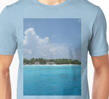 a vast Maldives landscape Unisex T-Shirt