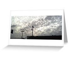 Break in the Sky  Greeting Card