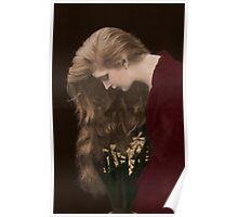 Vintage *Golden Cascade Beauty* Poster