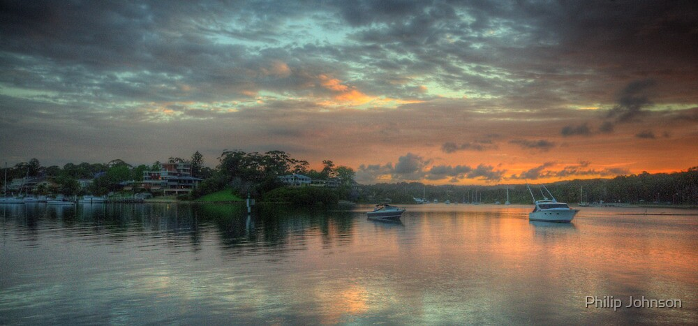 Serenity - Newport,Sydney - The HDR Experience by Philip Johnson
