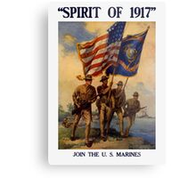 Join The US Marines -- Spirit Of 1917 Metal Print