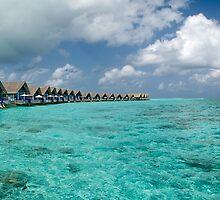 a sprawling Maldives landscape by beautifulscenes