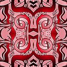 Patterns in Red  by MelDavies