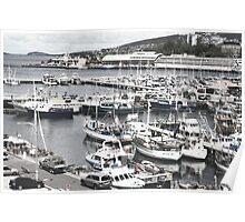 Constitution Dock, Hobart Poster