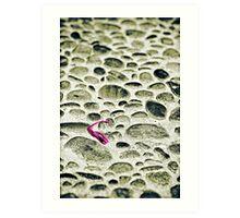 Pink sunglasses Art Print