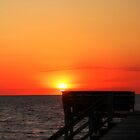 Relaxing Sunset by Sandy Woolard