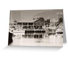 Mures Restaurant Hobart Greeting Card