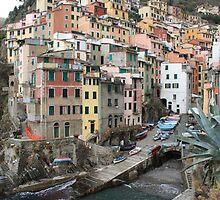 Riomaggiore by annalisa bianchetti