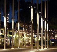 City and the Lights by Juana Maria Garcia Domenech