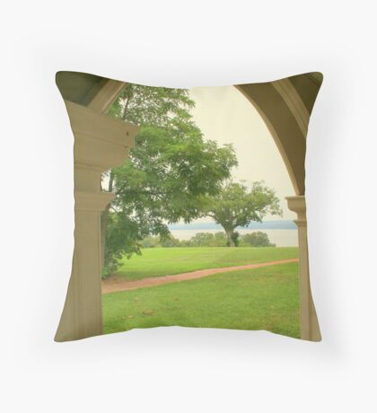 Georges View Throw Pillow