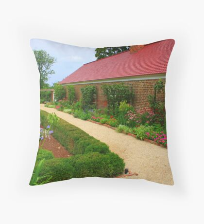 Georges prize patch Throw Pillow