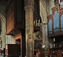 Minster Organ by WatscapePhoto