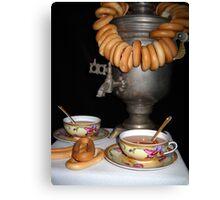 Russian tea. Canvas Print