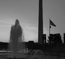 World War 2 Memorial  by julie101