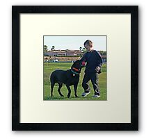 Why We Love Labs Framed Print