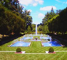 Fountain garden at Longwood..... by DaveHrusecky