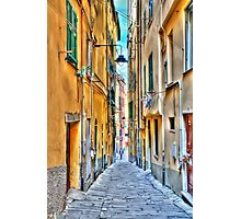 Alley Genoa Photographic Print