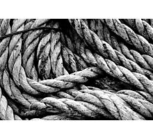 Old Rope Photographic Print