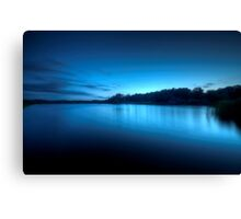 A Perfect Blue Canvas Print