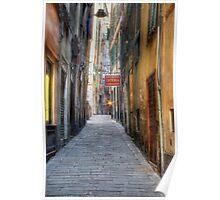 Alley Genoa Poster