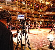 Filming the Dancers by Alex Hardie