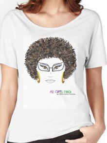 ALL GIRLS ROCK Women's Relaxed Fit T-Shirt