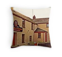 """"""" Cornish Pubs and Scrumpy"""" Throw Pillow"""