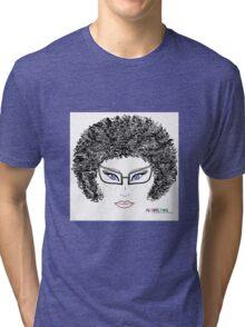 ALL GIRLS ROCK Tri-blend T-Shirt