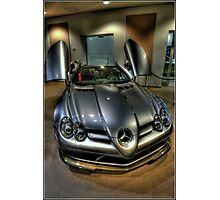 Mclaren Mercedes Photographic Print