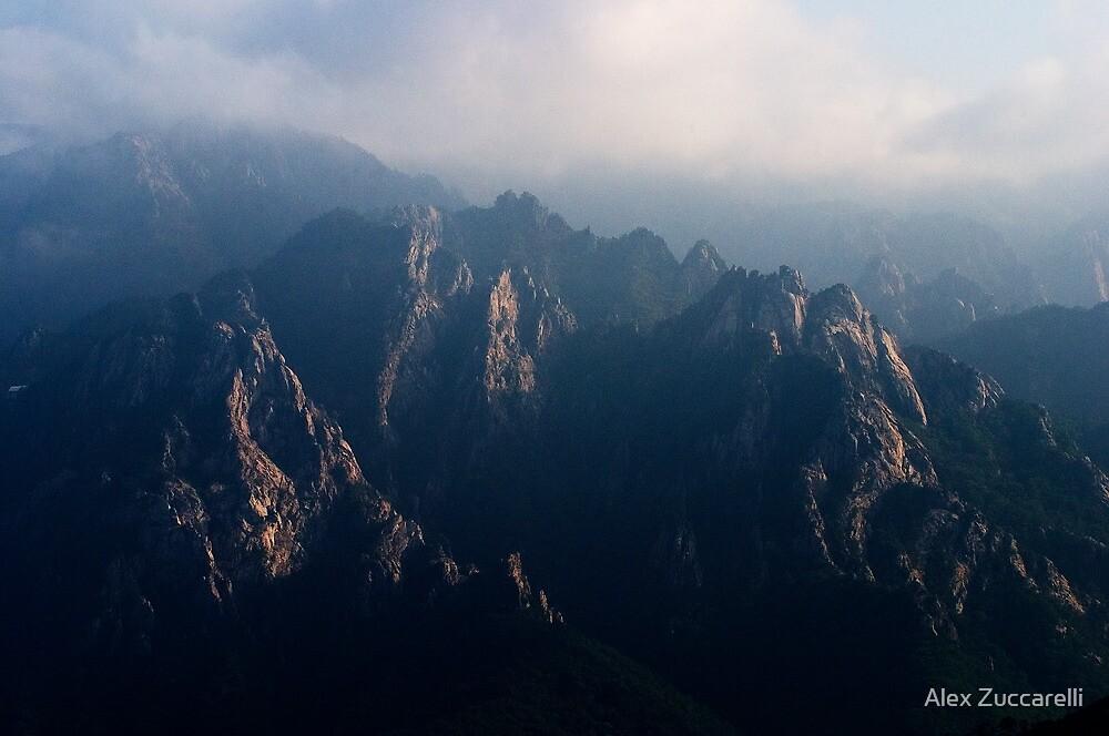Rugged Range - Seoraksan National Park, South Korea by Alex Zuccarelli