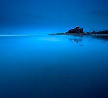 Bamburgh Blue by Doug Chinnery