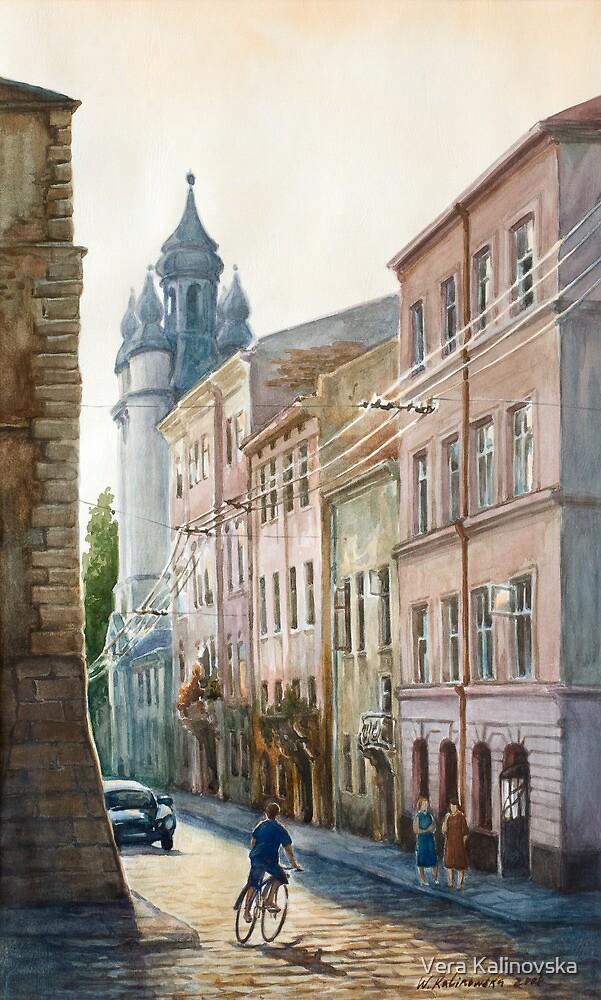 August in Lviv by Vera Kalinovska