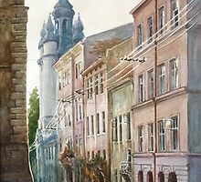 August in Lviv by Vera Kalinovska