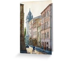 August in Lviv Greeting Card