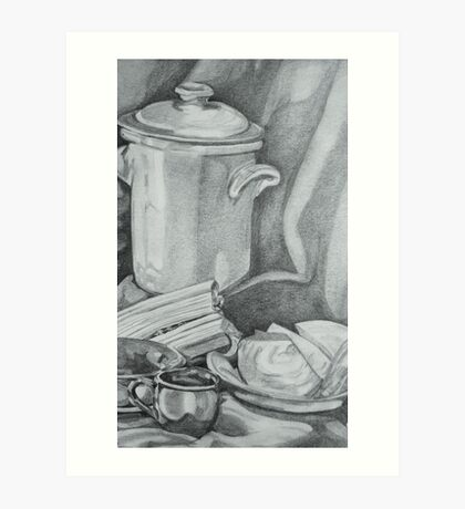 Pearson Pottery Still Life Art Print