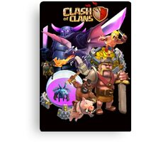 clash of clans Canvas Print