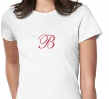 B baby Womens Fitted T-Shirt