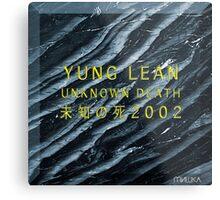 Yung Lean - Unknown Death 2002 (Sadboys) Metal Print