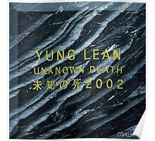 Yung Lean - Unknown Death 2002 (Sadboys) Poster