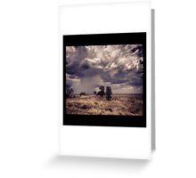 Outback Horizons Greeting Card