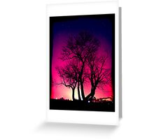 he stands alone... Greeting Card