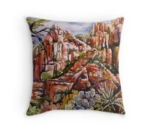Schnebly Hill - Sedona AZ Throw Pillow