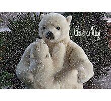 Christmas Hugs Photographic Print