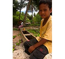 Pakin Islander - Pohnpei, Micronesia Photographic Print