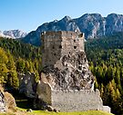 Castello Buchenstein di Andraz, Dolomiti, Italy by Andrew Jones