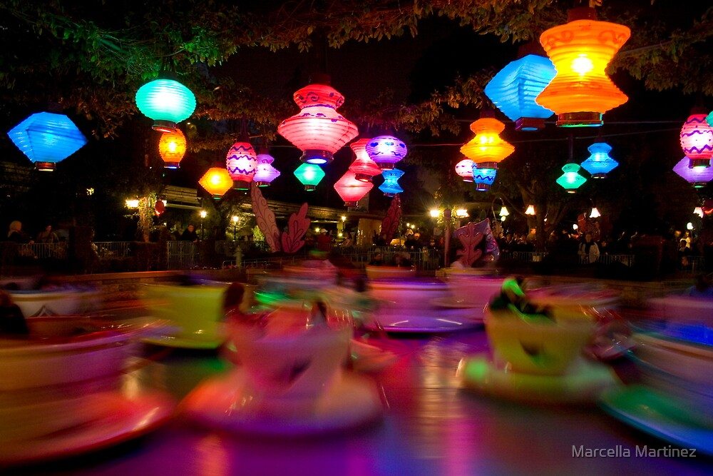 Teacups by Marcella Martinez