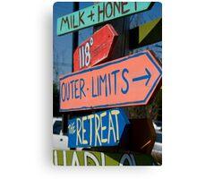 Outer Limits Canvas Print