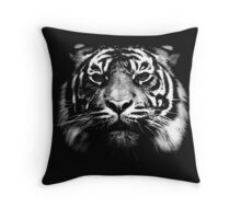 Illustrated Tiger  Throw Pillow