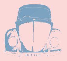 VW Beetle -  Light Blue Kids Clothes