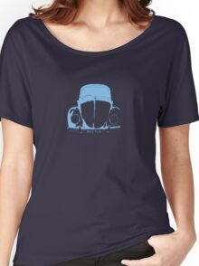 VW Beetle -  Light Blue Women's Relaxed Fit T-Shirt